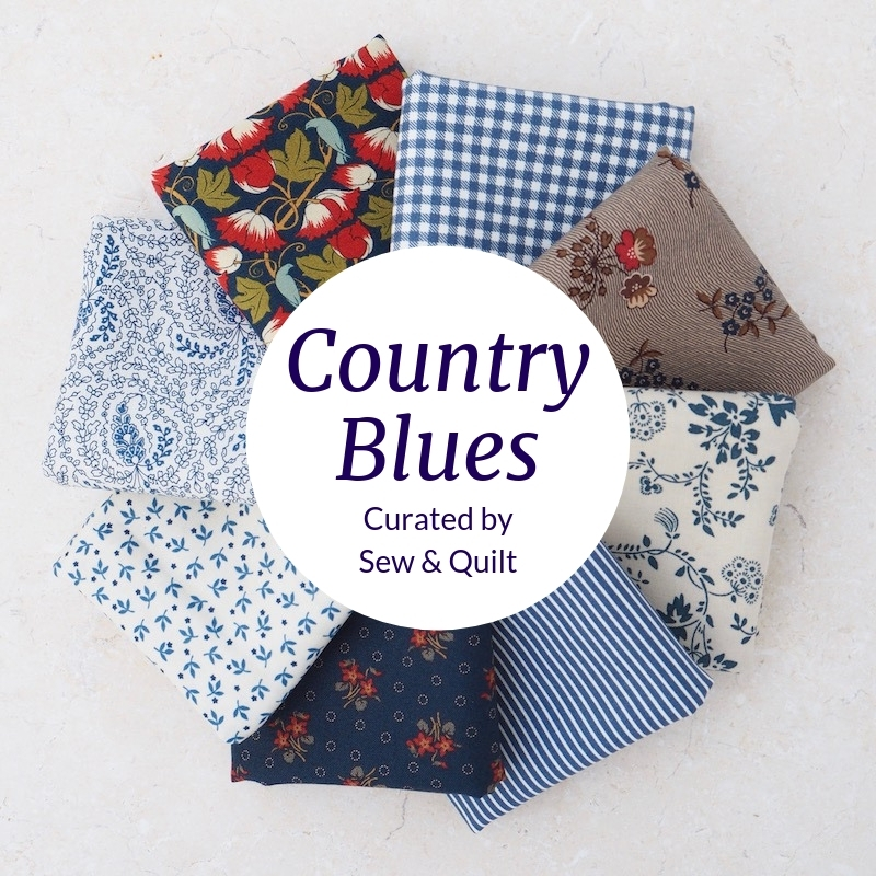 blue-fat-quarter-bundle-patchwork-fabric-UK-quilting