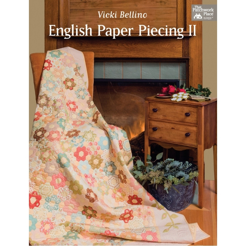 english-paper-piecing-2-book-vicki-bellino