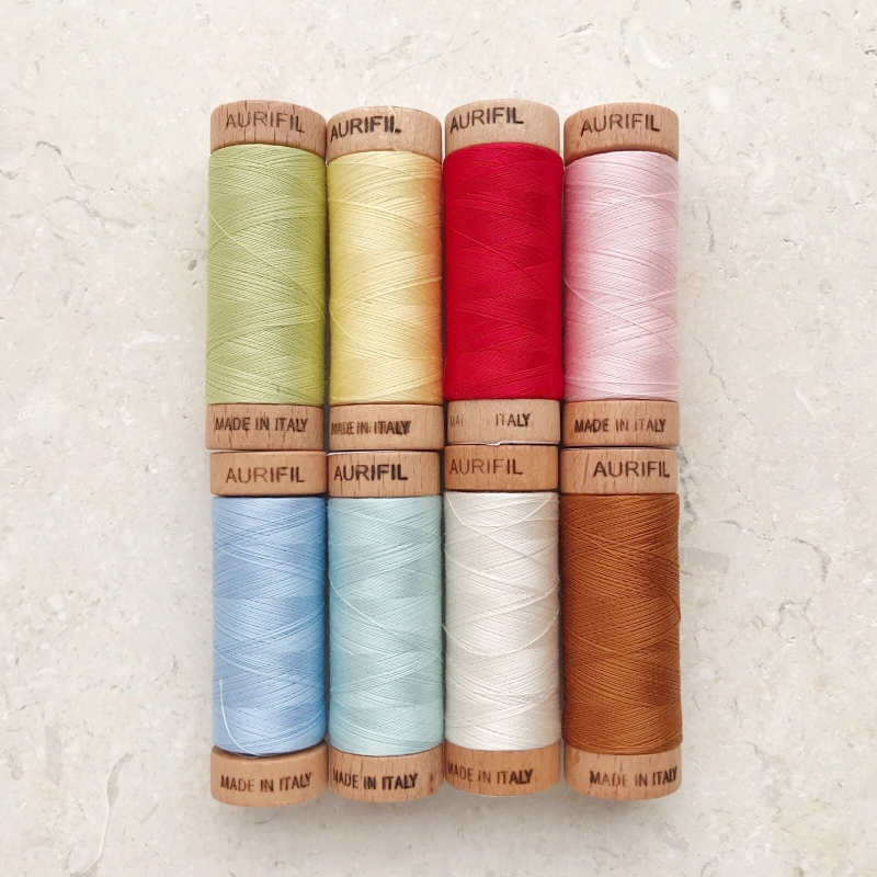 English-paper-piecing-thread-Aurifil-UK
