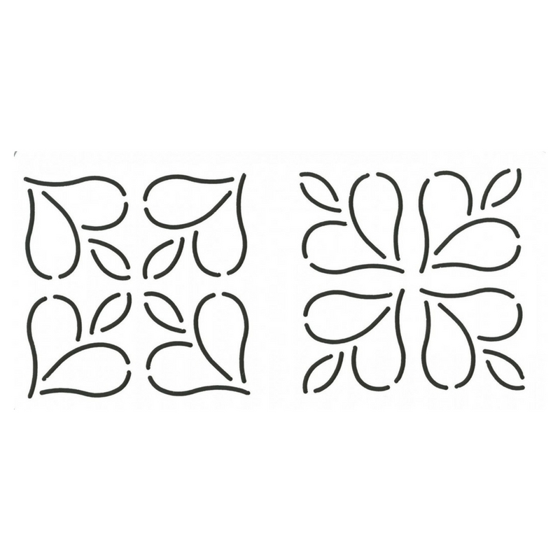 quilt-stencil-mini-designs