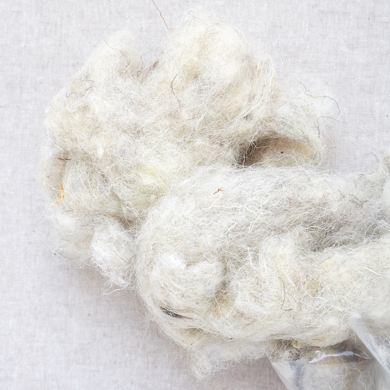 Natural Wool Bulky Filling for toy stuffing 100g